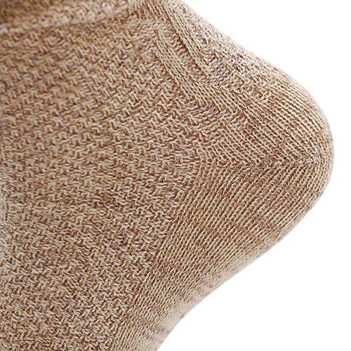KUULEE Trachtensocken Trachtenstrümpfe Socken Herren Kniestrümpfe in 2 Farben für das Oktoberfest - 5