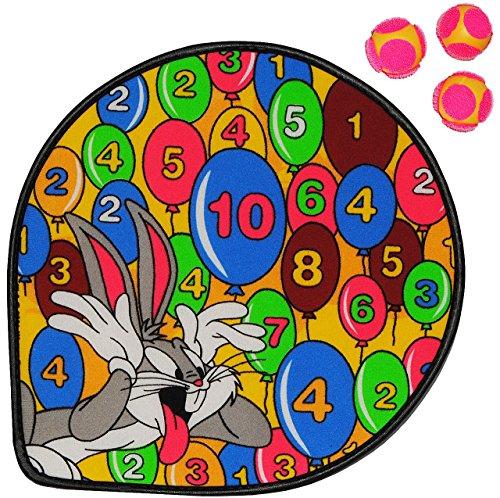 1 Set: Dart Spiel - Dartscheibe incl. 3 Klettbälle -