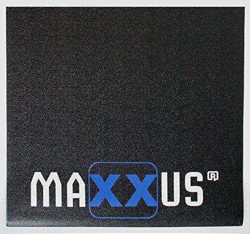 Maxxus Bodenschutzmatte Fitness Gummimatte - Ideal als Schutzmatte für Vibrationsplatten (Quadrat 1m x 1m x 10mm)