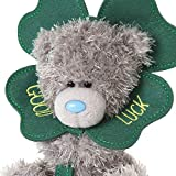 Me to You Good Luck Four Leaf Clover Tatty Teddy Gift