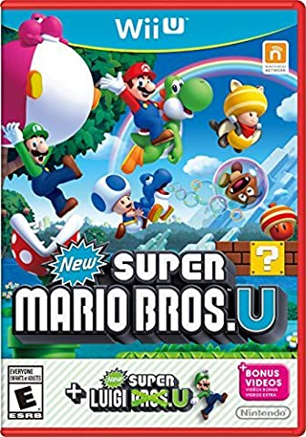 New Super Mario Bros. U + New Super Luigi U - Wii U by Nintendo