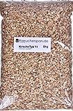 Räuchermehl aus europäischer Süßkirsche. Der Typ 11 ist speziell zum Warm- und auch zum Heißräuchern von Fisch und Fleisch geeignet, Die Körnung ist grob. Die Räucherspäne sind sauber gesiebt und werden technisch auf eine Holzfeuchte von ca.10% getro...