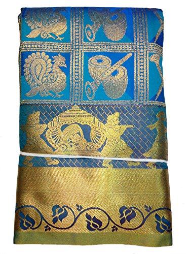 Pure Silk Kanchipuram Bridal Pattu Sarees with Rich Sannai Baja Butta All...