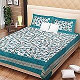 Bright Cotton Double Bed Sheet Cotton Tu...