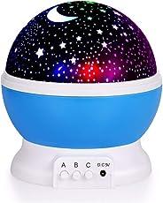 ElecStars Kids LED Night Projector Lamp