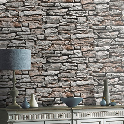 arthouse-vip-moroccan-stone-wall-brick-effect-photographic-wallpaper-roll