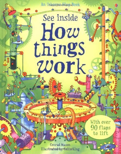 How Things Work (Usborne See Inside) by Conrad Mason (2009) Hardcover