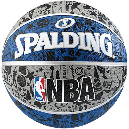 Spalding NBA Graffiti outdoor - Pelota de baloncesto, talla 7