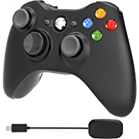 YCCTEAM Xbox 360 Wireless Controller, 2.4GHz Dual Vibration Xbox 360 Game Controller with Receiver Remote Gamepad Joypad…