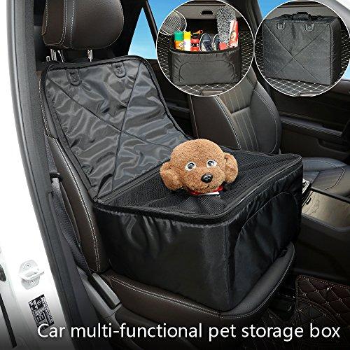 tional Aufbewahrungsbox für Haustiere - Faltbarer Hundeträger - Auto-Vordersitzbezug - Grosse Kapazität Kofferraum-Organizer - Reisetasche für SUV Vans Autos Trucks (Auto Sitzbezug Reisetasche)