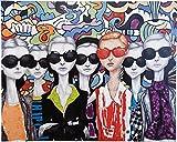Kare Ölbild Sunglasses, 120x150 cm