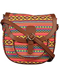 All Things Sundar Womens Sling Bag / Cross Body Bag - S10 - 76Y