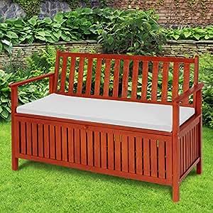 Miadomodo cassapanca panchina panca giardino esterno for Cassapanca per balcone