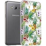 Mocca Design CSA058 Coque crystal pour Samsung Galaxy Grand Prime Motif Ananas