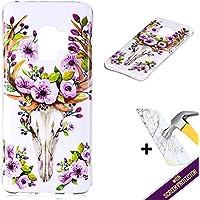 Samsung Galaxy S9 Hülle,Silikon Hülle für Galaxy S9,Roreikes Transparent Handyhülle Muster Kreativ Ultra-Clear... preisvergleich bei billige-tabletten.eu