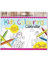 Zanahorias para colorear de la niña calendario, niña, color multicolor, tamaño n/a