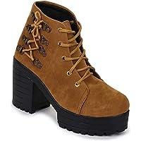 Frringo Womens & Girls Casual Ankle Stylish Chukka Boots For Women