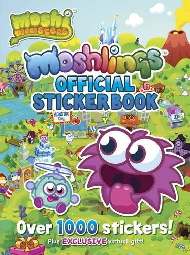Image of Moshi Monsters Official Moshlings Sticker Book