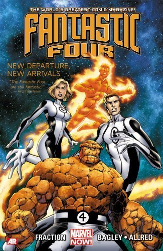 Fantastic Four, Vol. 1: New Departure, New Arrivals by Fraction, Matt (2013) Paperback