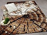 Safari Designer Teppich Baum in 3 Größen