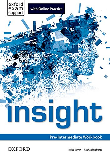 Insight Pre-Intermediate. Workbook and Online Practice Student's Pack