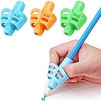 DOCAT Pencil Grips for Kids Handwriting, Children Pen Writing Aid Grip Set Posture Correction Tool for Kids Preschoolers…