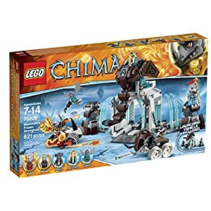 LEGO Legends of Chima 70226 Mammoth's Frozen Stronghold Building Kit by LEGO 0673419229784 LEGO