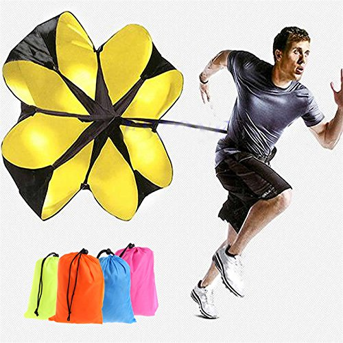 Kofun Hot Speed Running Power 142,2cm Sport Schütte Widerstand Training Parachute Farbe zufällig