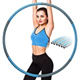 EOSVAP Hula Hoop, Hula Hoop Reifen Die Zur Gewichtsreduktion und Massage Verwendet Werden KöNnen, Einstellbares Gewichtsdesig