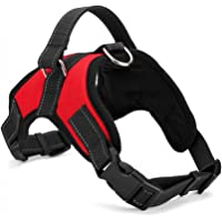 PetsUp Comfort Harness Vest for Dogs (Red, Small, 40-48 Neck)