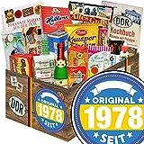 Original seit 1978 | Ostprodukte | mit Kalter Hund Blister, Zetti Knusperflocken, Halloren-Kugeln Classic und mehr | GRATIS Aufkleber - Original seit 1978
