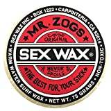 Mr. Zogs Original Sexwax - Warm Water Temperature Coconut Scented (White) by Mr Zogs Original