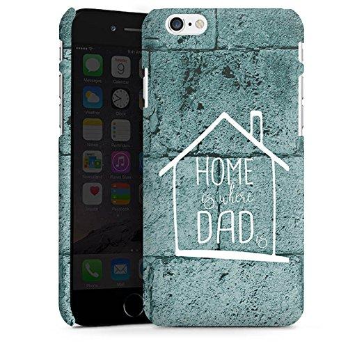 Apple iPhone X Silikon Hülle Case Schutzhülle Vatertag Dad Papa Premium Case matt