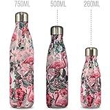 Chilly's Bottle | Thermos 100% Étanche & Anti Fuite | Bouteille Isotherme réutilisable sans BPA | Maintient Les Boissons Froides Pendant 24 Heures, Chaudes Pendant 12 Heures