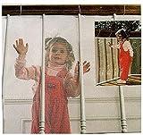 Kind Schutz wasserfester Net langlebiger Wetterfester Verstellbarer Kind Baby Toddler Infant Kid Balkon und Treppe Geländer Zaun Mesh Sicherheit Schutz Net
