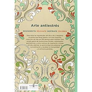 Arte Antiestrés. 100 Láminas Vintage Para Colorear (OBRAS DIVERSAS)