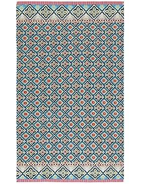 PiP Studio Star Check Beach towel | Blue - 100 x 180 cm