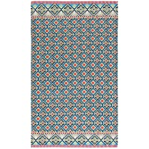 Pip Studio Star Check Blue Beach Towel 100 x 180 cm