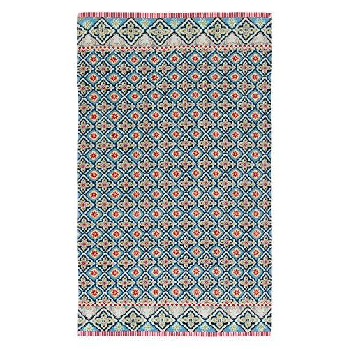 Preisvergleich Produktbild PiP Studio Star Check Beach towel | Blue - 100 x 180 cm