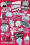 GB Eye LTD, Rick y Morty, Citas, Maxi Poster 61x91,5cm