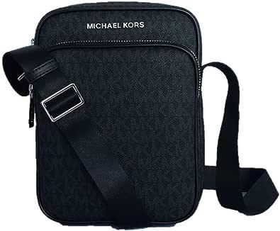 Michael Kors Jet Set Travel Signature PVC Medium Flight Bag