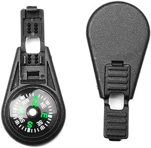25X Explorer SAS Map Combat Lock Kits Zipper Pull Survival Compass Cord Rope End