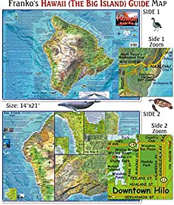 Hawaii Guide Map for Scuba Divers for Scuba Divers and Snorkelers