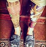 Hosaire 6 pcs/set Neuheit Designs Rock-Fake Tattoo Sleeves Arme/Beine Strümpfe Stretch Temporary-Kleid-Kostüm Test