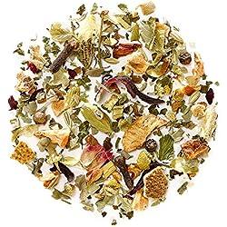 Entspannung Kamillen Kräuter Tee Bio - Lösen Sie Anspannung und Stress Kräuterteemischung Relax - Kamillentee zur entspannen - Lose Blätter Nerventee
