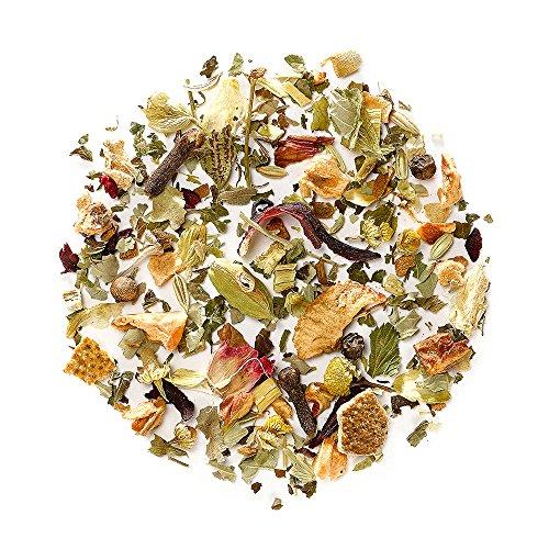 Entspannung Kamillen Kräuter Tee Bio - Lösen Sie Anspannung und Stress Kräuterteemischung Relax - Kamillentee zur entspannen - Lose Blätter Nerventee (Natürliche Depression Relief)
