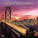 San Francisco 2019 - 18-Monatskalender mit freier TravelDays-App (Wall-Kalender) - BrownTrout Publisher