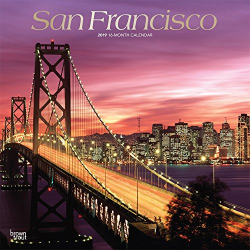 San Francisco 2019 Square Wall Calendar