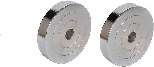 Unique Steel Gym Plates 7.5 KG (Pack of 2)