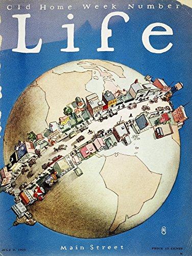 The Poster Corp Main Street Cover 1925. /N'Main Street ' 'Life' Magazine Cover 1925. Kunstdruck (60,96 x 91,44 cm) -